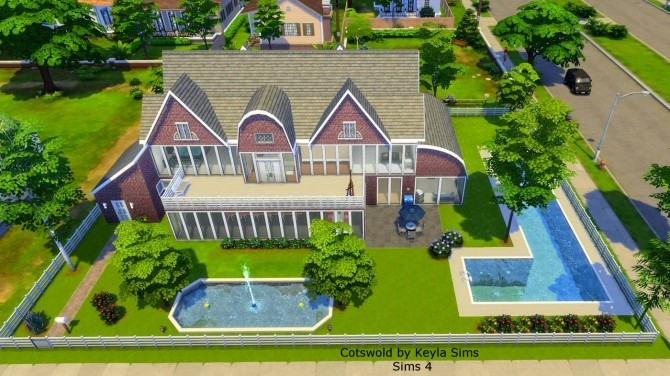 Costwold House at Keyla Sims image 3201 670x376 Sims 4 Updates