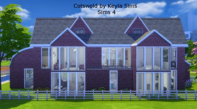 Costwold House at Keyla Sims image 3212 670x371 Sims 4 Updates