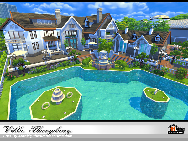 Villa Thangdang by autaki at TSR image 3226 Sims 4 Updates