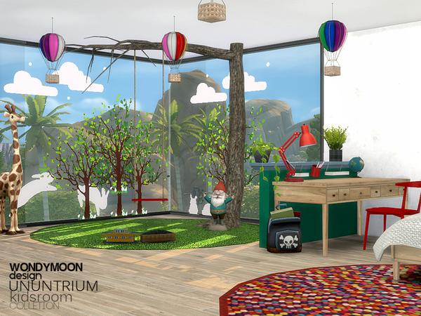 Ununtrium Kidsroom by wondymoon at TSR image 323 Sims 4 Updates