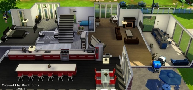 Costwold House at Keyla Sims image 3231 670x315 Sims 4 Updates