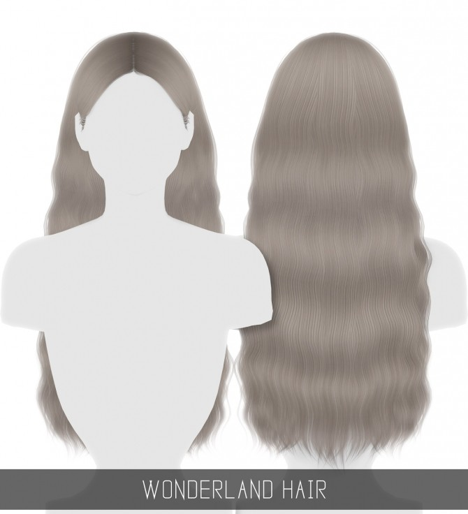 WONDERLAND HAIR at Simpliciaty image 3291 670x736 Sims 4 Updates