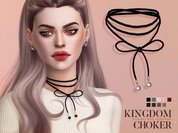 Kingdom Choker by Pralinesims at TSR image 3325 Sims 4 Updates