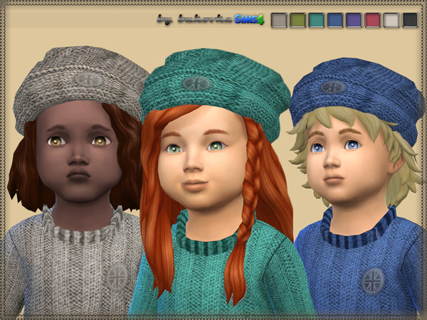 Hat Knitted by bukovka at TSR image 333 Sims 4 Updates