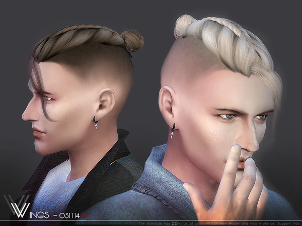 Sims 4 Hair OS1114 by wingssims at TSR