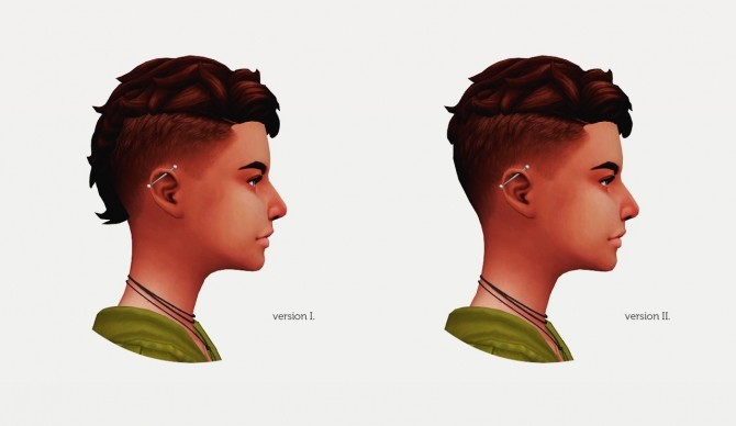 LEVI HAIR VERSIONS I & II F at Wyatts Sims image 340 670x388 Sims 4 Updates