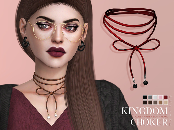 Kingdom Choker by Pralinesims at TSR image 3425 Sims 4 Updates