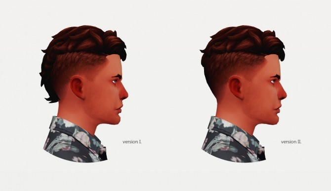 LEVI HAIR VERSION II M at Wyatts Sims image 3431 670x388 Sims 4 Updates
