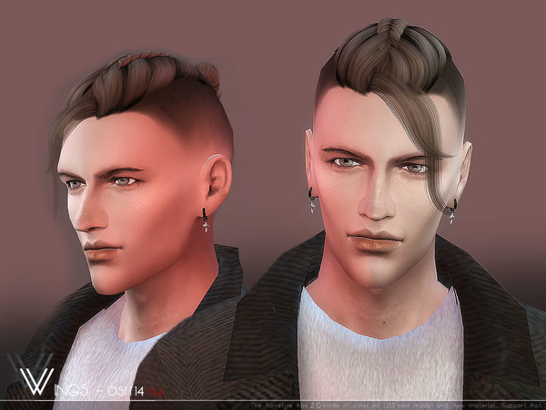 Hair OS1114 by wingssims at TSR image 349 Sims 4 Updates