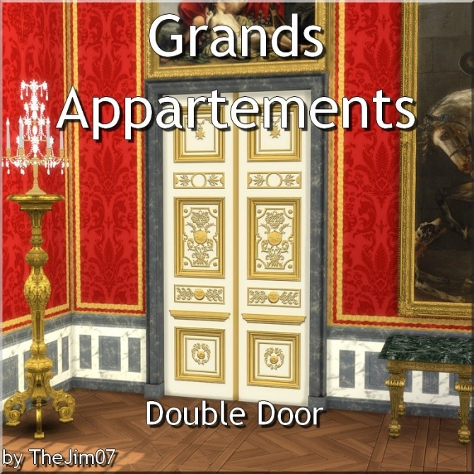 Grands Appartements Double Door by TheJim07 at Mod The Sims image 3518 670x670 Sims 4 Updates