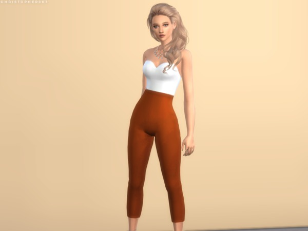 Duvall Jumpsuit by Christopher067 at TSR image 364 Sims 4 Updates