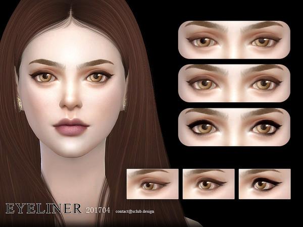 Sims 4 Eyeliner 201704 by S Club LL at TSR