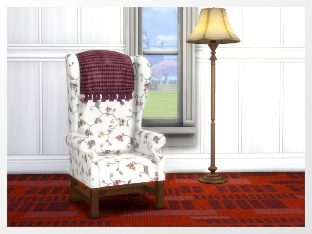 Whispering armchair by Oldbox at All 4 Sims image 3771 Sims 4 Updates