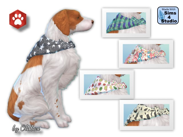 Dog Bandanas by Oldbox at All 4 Sims image 380 Sims 4 Updates
