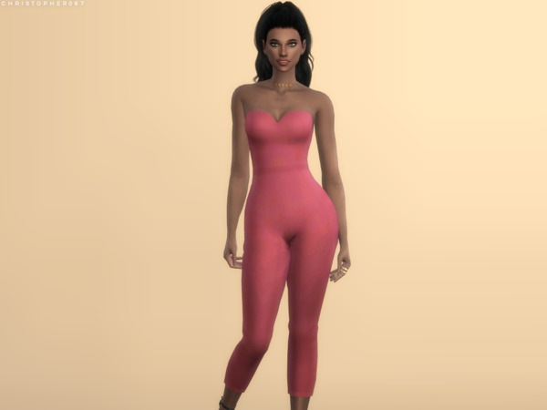 Duvall Jumpsuit by Christopher067 at TSR image 384 Sims 4 Updates