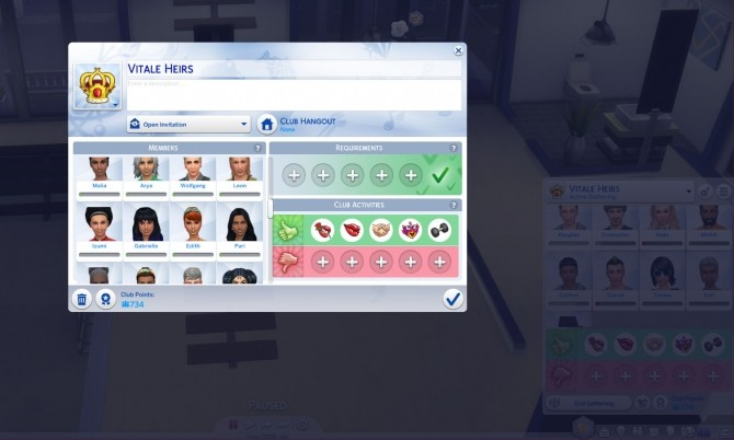 More Club Members & Gender Requirements by edespino at Mod The Sims image 3918 670x402 Sims 4 Updates