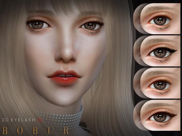 2D Eyelash 03 by Bobur3 at TSR image 396 Sims 4 Updates