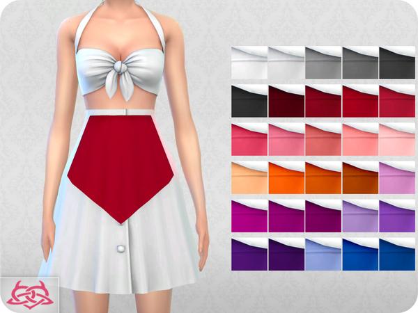 Sims 4 Waitress SET by Colores Urbanos at TSR