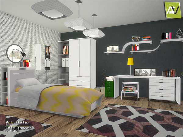 Tral Bedroom By Artvitalex At Tsr Sims 4 Updates