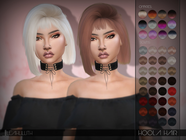 Hoola Hair by LeahLillith at TSR image 406 Sims 4 Updates