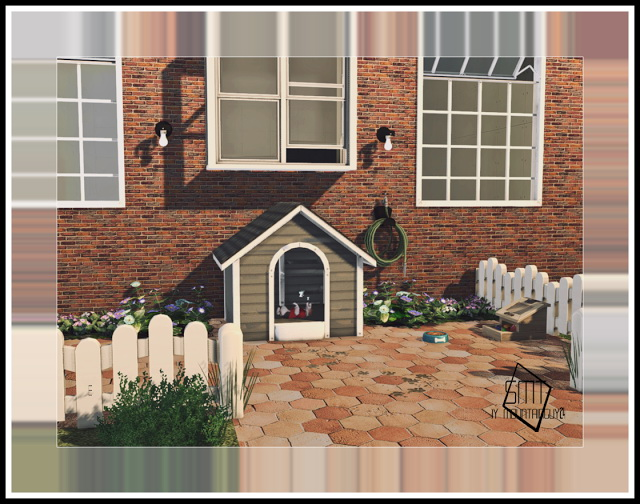 MG24 Haggys Functional Dog House Retexture 2t4 at Sims Modern Technology image 4061 Sims 4 Updates