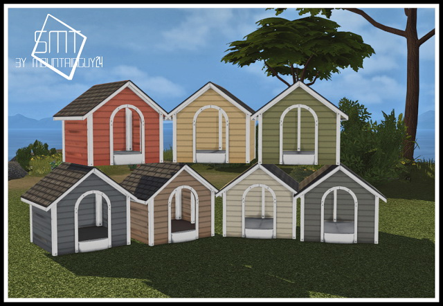 MG24 Haggys Functional Dog House Retexture 2t4 at Sims Modern Technology image 4071 Sims 4 Updates