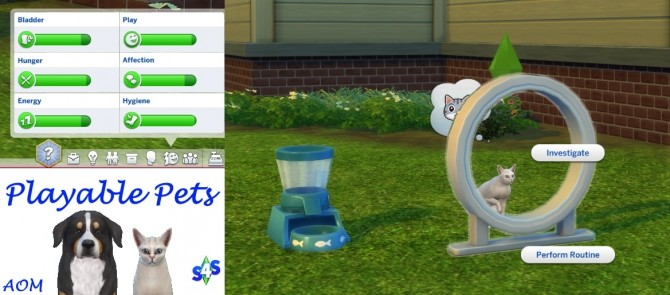 Playable Pets mod at Sims 4 Studio image 4081 670x295 Sims 4 Updates