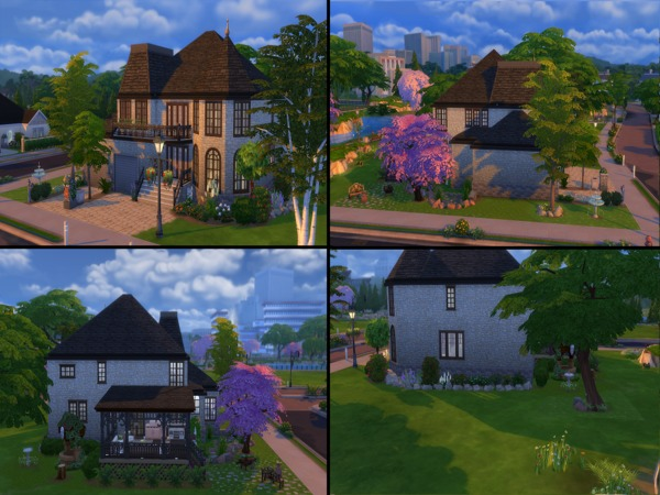 Manor Style Cottage by silentapprentice at TSR image 4100 Sims 4 Updates