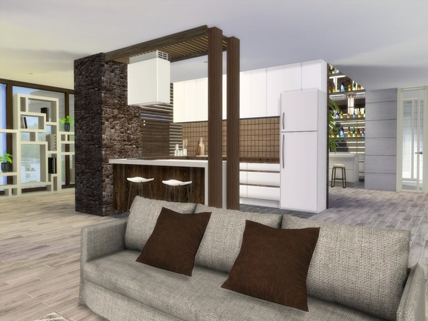 Modern Calanthe house by Suzz86 at TSR image 4104 Sims 4 Updates