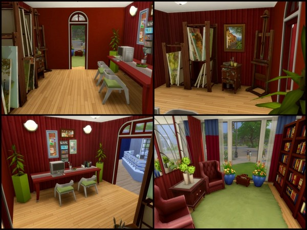 Sims 4 PreFab shipping container home by sparky at TSR