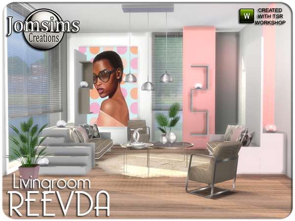 Reevda living room by jomsims at TSR image 4210 Sims 4 Updates