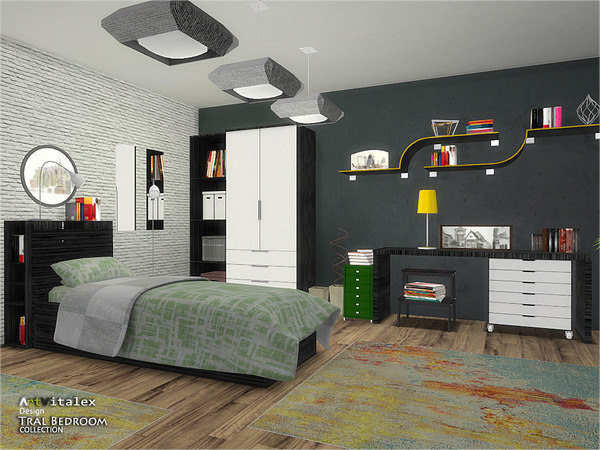Tral Bedroom by ArtVitalex at TSR image 422 Sims 4 Updates