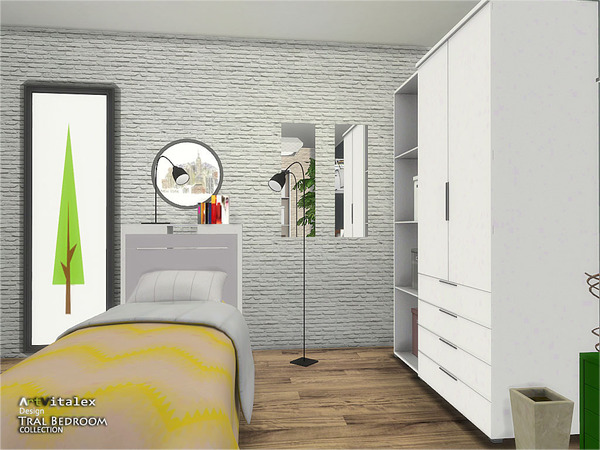 Tral Bedroom by ArtVitalex at TSR image 432 Sims 4 Updates