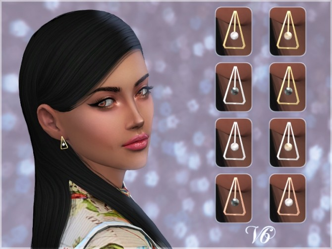 Triangle Earrings V6 at Giulietta image 454 670x503 Sims 4 Updates