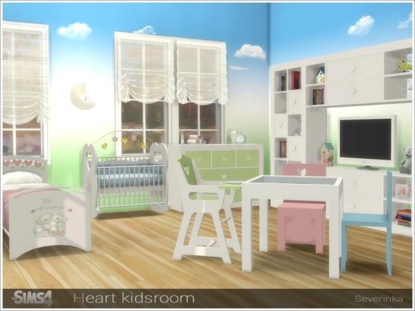 Heart kidsroom by Severinka at TSR image 4712 Sims 4 Updates