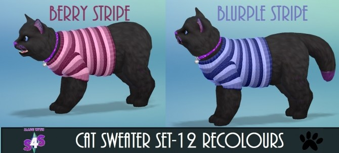 EP04 Cat Sweater 12 Recolours by wendy35pearly at Mod The Sims image 4715 670x302 Sims 4 Updates