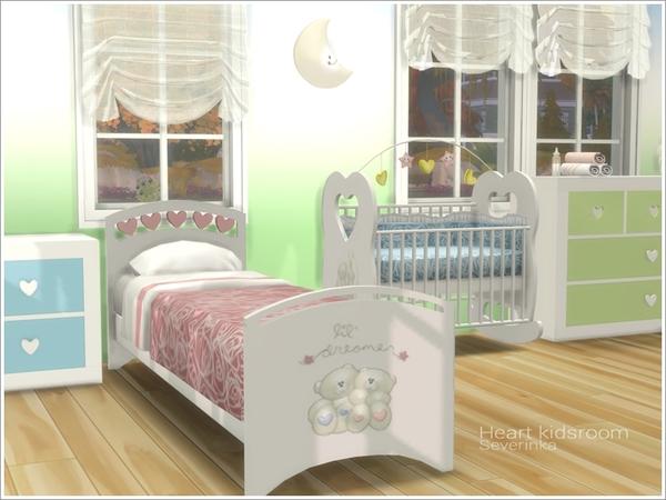 Heart kidsroom by Severinka at TSR image 4813 Sims 4 Updates