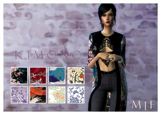 Sims 4 Kimono Jacket at Magnolian Farewell