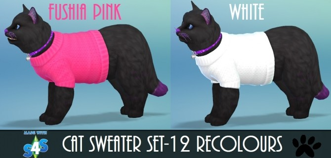 EP04 Cat Sweater 12 Recolours by wendy35pearly at Mod The Sims image 4816 670x320 Sims 4 Updates