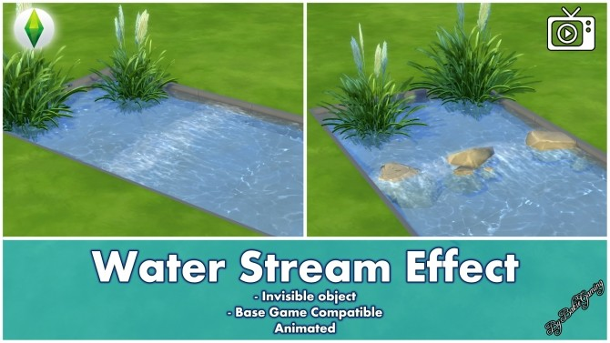 Water Stream Effect by Bakie at Mod The Sims image 5015 670x377 Sims 4 Updates