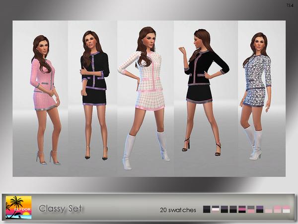 Classy Set by Elfdor at TSR image 5115 Sims 4 Updates