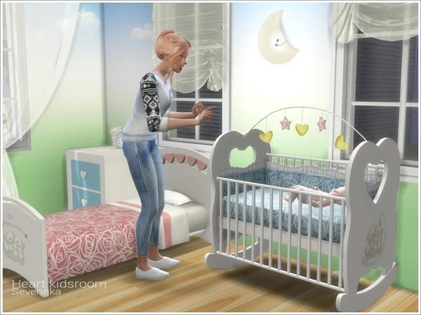 Heart kidsroom by Severinka at TSR image 5117 Sims 4 Updates
