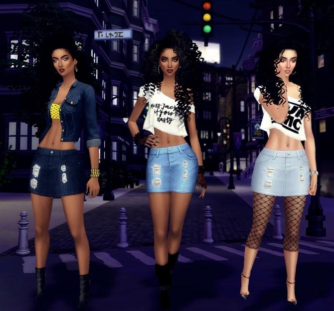 Sims 4 80s Stunna Collection at LolaSimblr