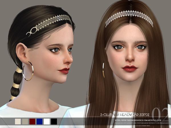 Headband F 201702 by S Club WM at TSR image 5210 Sims 4 Updates