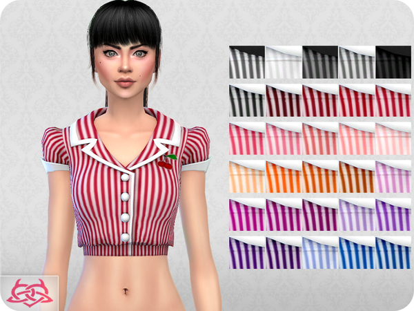 Waitress SET RECOLOR 2 by Colores Urbanos at TSR image 5211 Sims 4 Updates