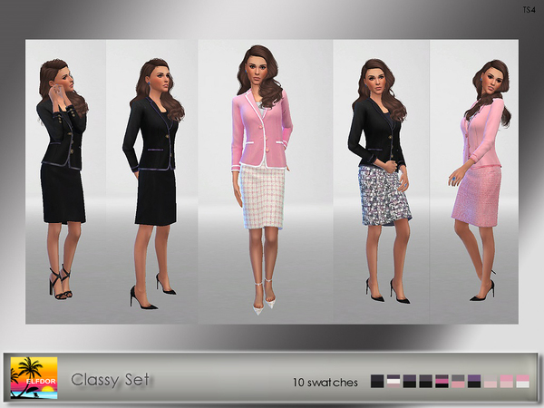 Classy Set by Elfdor at TSR image 5212 Sims 4 Updates
