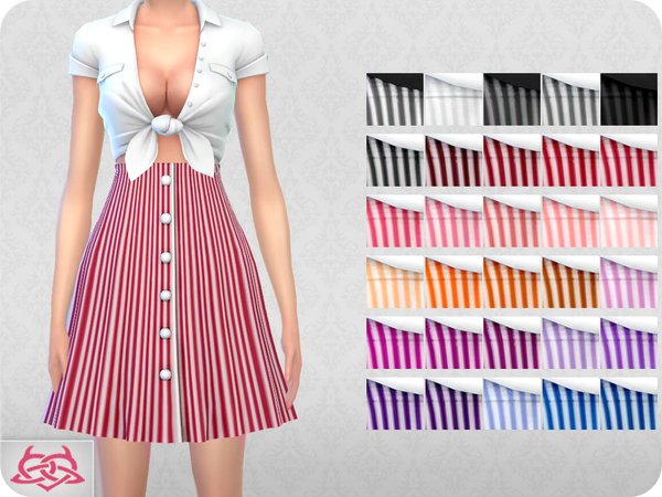 Waitress SET RECOLOR 2 by Colores Urbanos at TSR image 5310 Sims 4 Updates