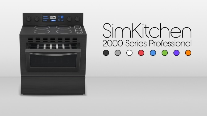 SimKitchen 2000 Series Stove by littledica at Mod The Sims image 5416 670x377 Sims 4 Updates