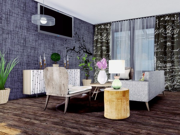 Oasis Modern House by MychQQQ at TSR image 559 Sims 4 Updates