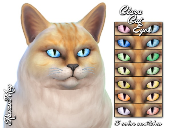 Sims 4 Clara Cat Eyes by roxasmay at TSR